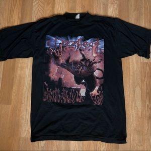 Ozzy Osbourne Ozzfest Rock 2002 T-shirt Size L